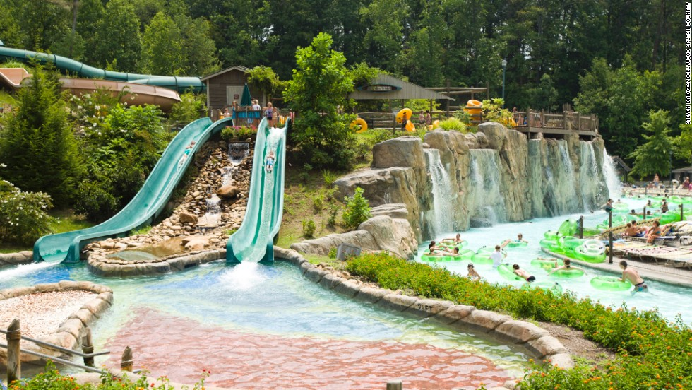 "<a href=""http://www.dollywood.com/waterpark.aspx"" target=""_blank"">Dollywood Splash Country</a> in Pigeon Forge, Tennessee, ranks fourth on the list. The park features nearly two dozen water slides and rides."