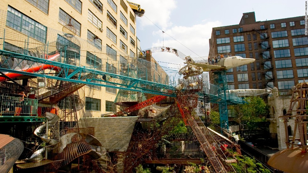 "St. Louis' imaginative <a href=""http://www.citymuseum.org/site/"" target=""_blank"">City Museum </a>includes the spectacular MonstroCity, a sculpture-playground hybrid that incorporates slides, wrought-iron Slinkies and more. The museum lands at No. 3 on the list."