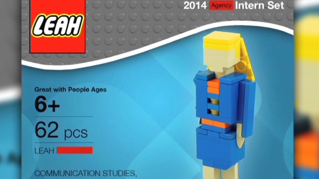 Student's Lego resume goes viral