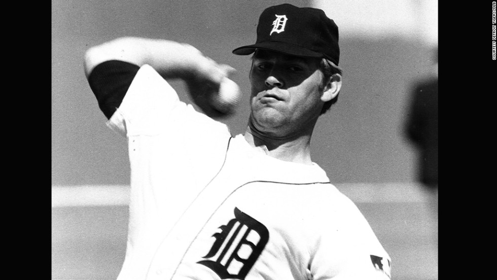 Pitcher Denny McLain joined the Detroit Tigers in 1963. In 1968, he became the last pitcher to win 31 games in a season.