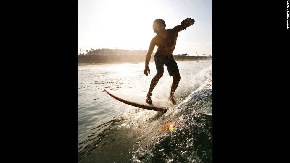 Surf any of the beaches up and down the San Diego coastline, and you'll likely find some surf to your liking (and abilities). Then drive up the coast and learn more about the Golden State's surfing culture at the California Surf Museum in Oceanside.