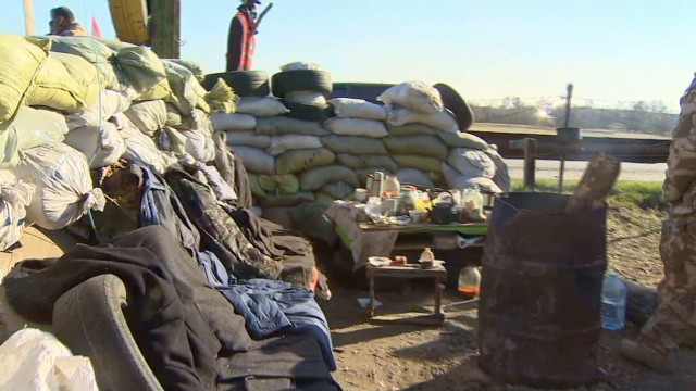 Ukraine prepares border amid uncertainty