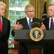 a look at the life of george walker bush Jeff shesol writes that the legacy of president george h w bush must   photograph by cynthia johnson/the life images collection/getty  bush, true,  was never an ideologue, but he did often strain to appear as one.