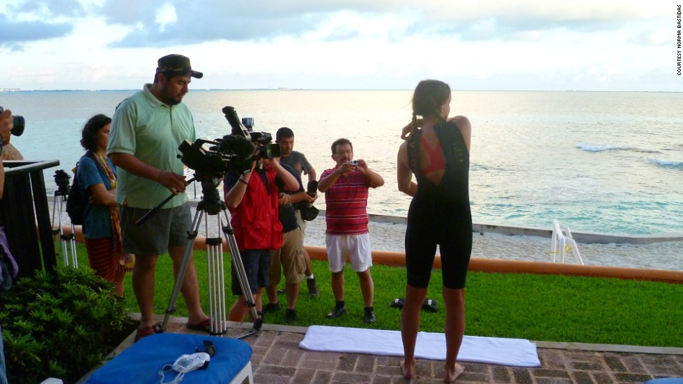 "Filming is under way for a documentary about Bastidas' journey. The child advocacy group iEmpathize hopes ""<a href=""http://berelentless.iempathize.org/"" target=""_blank"">Be Relentless</a>""  will help fight human trafficking in the United States and Mexico."