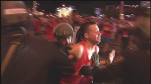 16 arrests after Arizona hoops loss