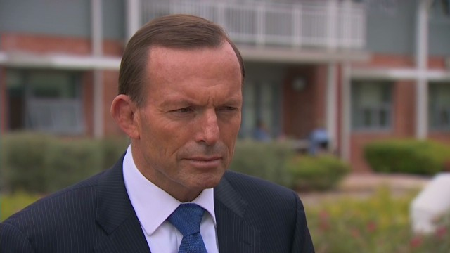 Tony Abbott: Search efforts ramping up
