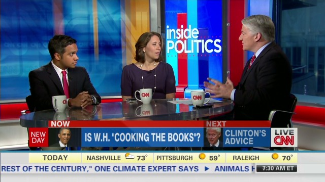 "Inside Politics: Is WH ""Cooking Books""?"