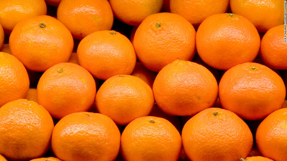 If you have a grass pollen allergy, be wary of oranges, peanuts and melons, including watermelon, honeydew and cantaloupe.