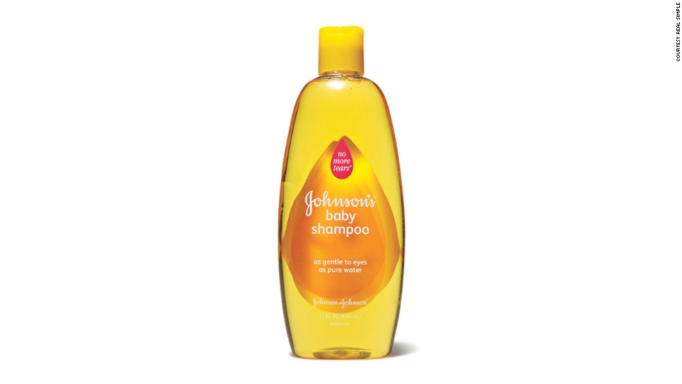 Johnson's baby shampoo is now formaldehyde-free.
