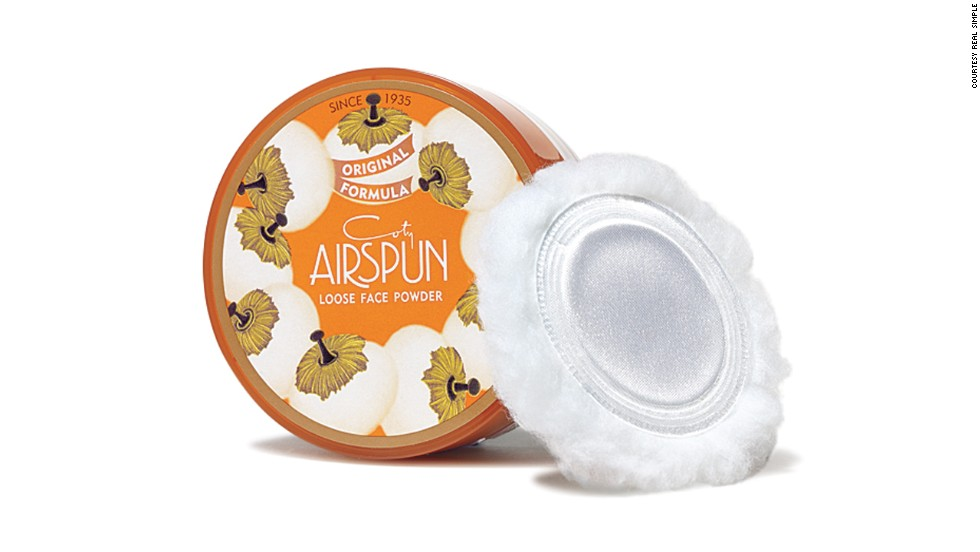 Coty Airspun Face Powder first appeared in its charming packaging in 1935.