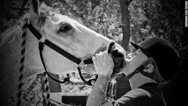 "Allen ""Skip"" Haughay Jr. died while riding his horse Regal Bull. They were struck by a pickup near his California farm."