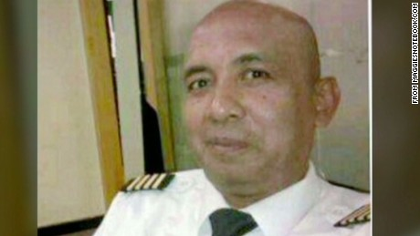 Zaharie Ahmed Shah was the captain of MH370 when it disappeared in March 2014.