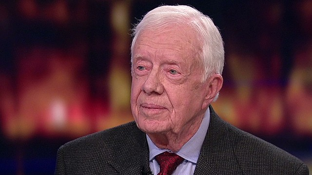 Jimmy Carter: Stop abuse against women