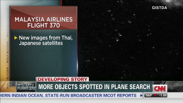 More objects spotted in plane search