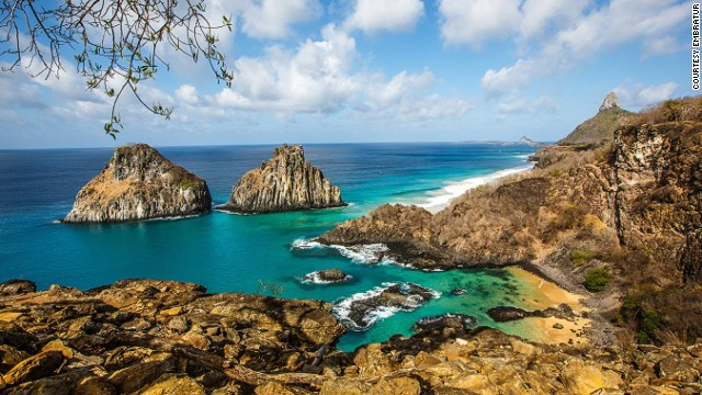 Noronha is located 220 miles off the Northeast coast. It's an ecological paradise, Unesco World Heritage site and sea turtle and spinner dolphin sanctuary.  Wonderful beaches, and one of the best places to dive and surf in Brazil.