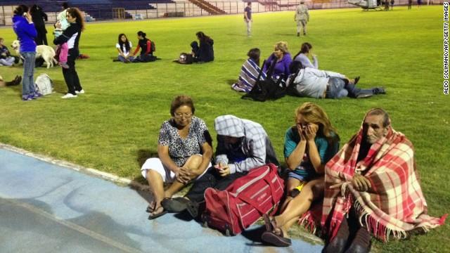 Chile quake sparks mass evactuations