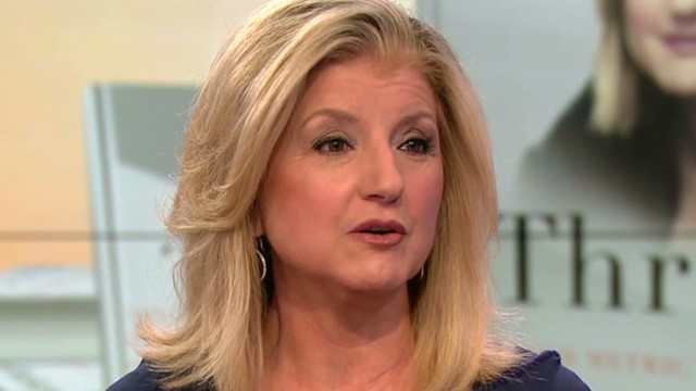 Huffington shares her tips for success