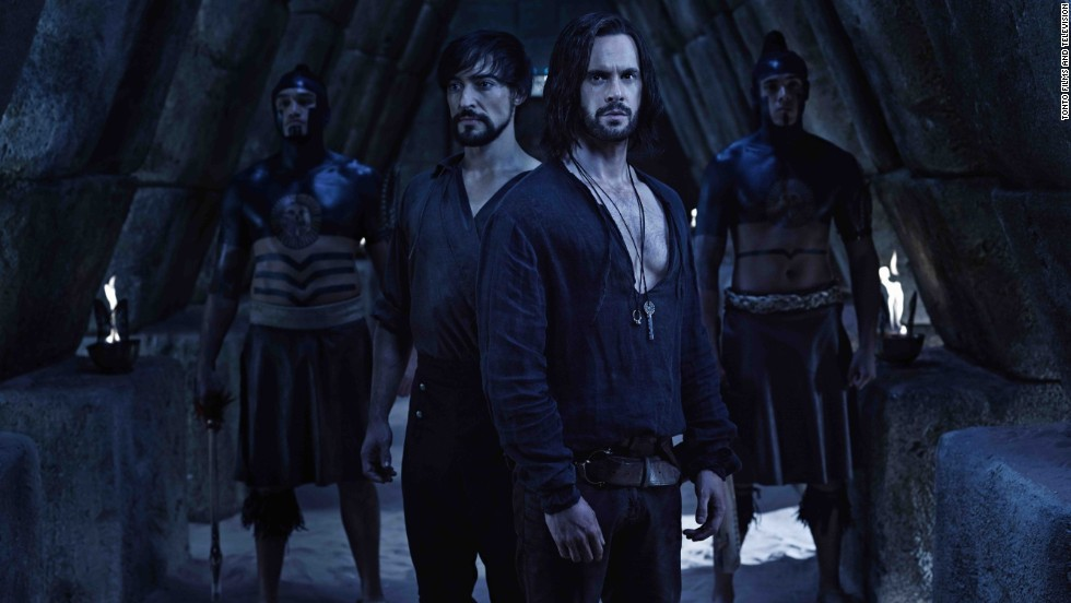It's Leonardo da Vinci (Tom Riley) as you've never seen him. This fictional look at his early life is uniquely dark and fantastical. It's been renewed for a third season.