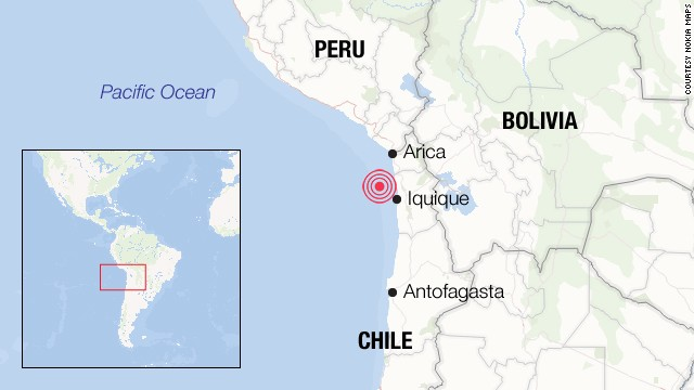 Pres.: Chile faced emergency 'very well'