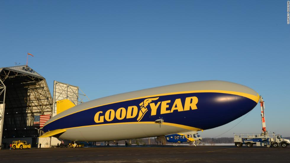Goodyear took its new Zeppelin NT airship out for a spin in March at its facility near Akron, Ohio. Click through the gallery to see more of the first new model in 45 years.