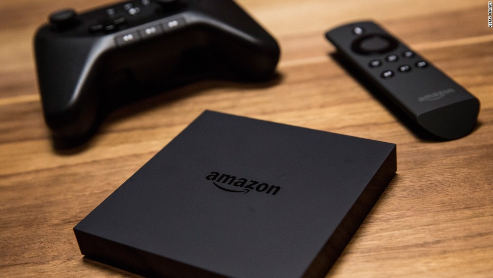 The latest entry in an increasingly crowded Web-streaming market, Amazon's Fire TV lets the user search content with their voice.