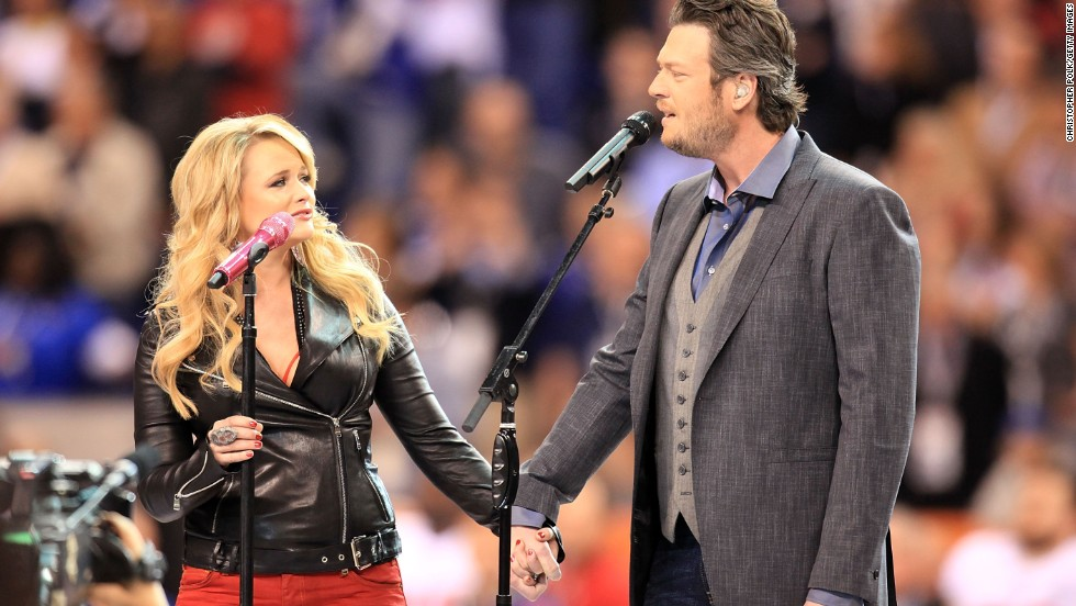 Once called the Beyonce and Jay Z of country music, singers Miranda Lambert and Blake Shelton have split. The couple confirmed July 20, 2015 that they were ending their marriage after four years. Both have since moved on to new relationships.