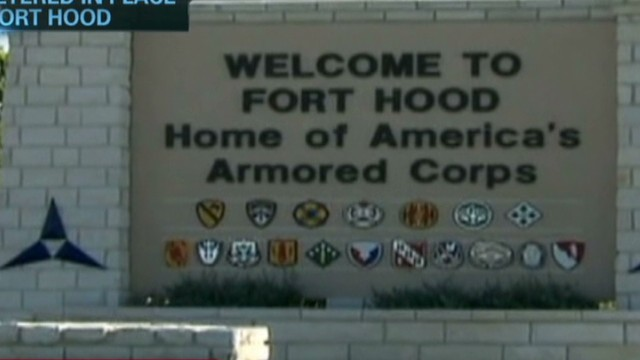 Soldier calls from Fort Hood shelter