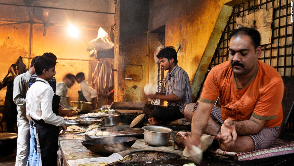 Hidden in the twisting lanes of the old part of the city, the busy kitchen at Kesar Da Dhaba in Amritsar is reached only by foot, cycle rickshaw or bicycle.