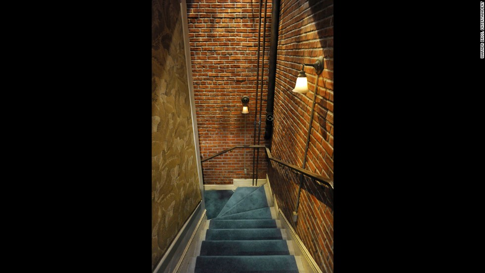 The cast have spent many scenes walking up and down the stairwell to the main apartment complex. But as it turns out, the stairs going down don't go very far. They lead to a wall. The set is changed to make it look like different floors.
