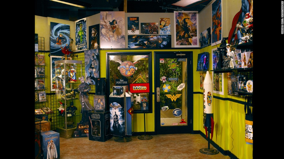 """The comic book store set is kept up-to-date and authentic, mostly with DC Comics (DC, """"Big Bang Theory"""" and CNN all fall under the Time Warner umbrella). It's a favorite for cast members like Mayim Bialik and Kunal Nayyar."""