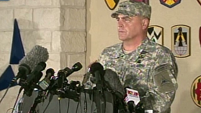 Lt. General: Don't know shooter's motive