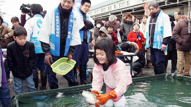 Held each February, Shimonoseki's Fugu Festival is a celebration of all things related to the revered delicacy.