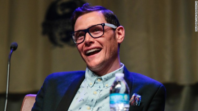 "Actor Burn Gorman, speaking at DragonCon 2013 in Atlanta, plays Karl on ""Game of Thrones."""