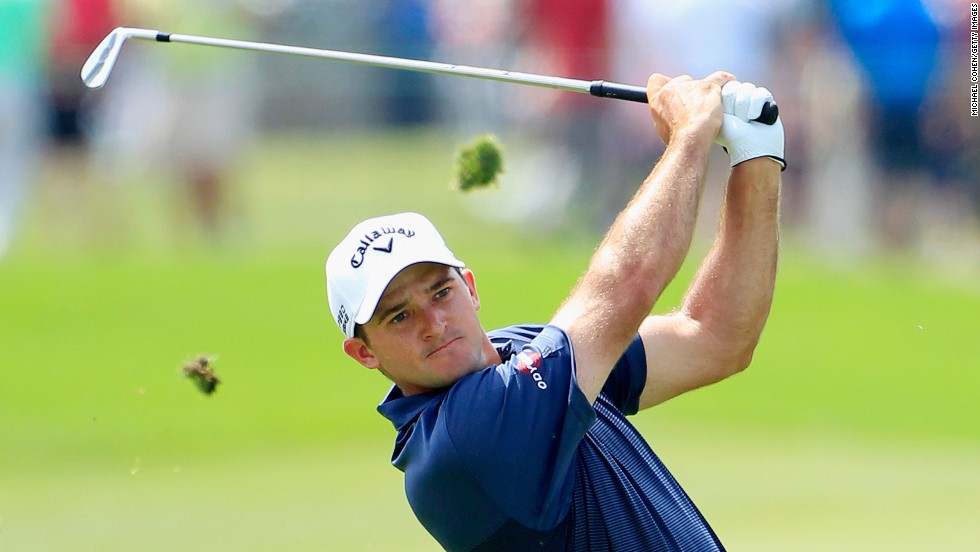 Palmer's grandson Sam Saunders, 26, turned pro in 2011 and is fighting to win back his place on the PGA Tour.
