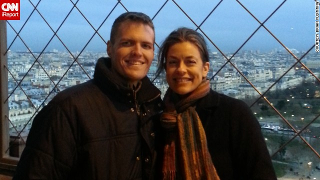 In December, Brian Flemming flew to Europe to meet Jackie Eastham in person. They remain close friends.