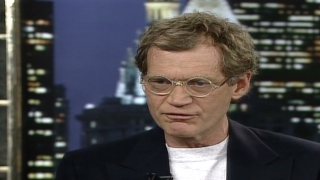1996: Letterman's lost interview