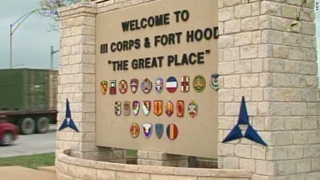Military police officer a Fort Hood hero
