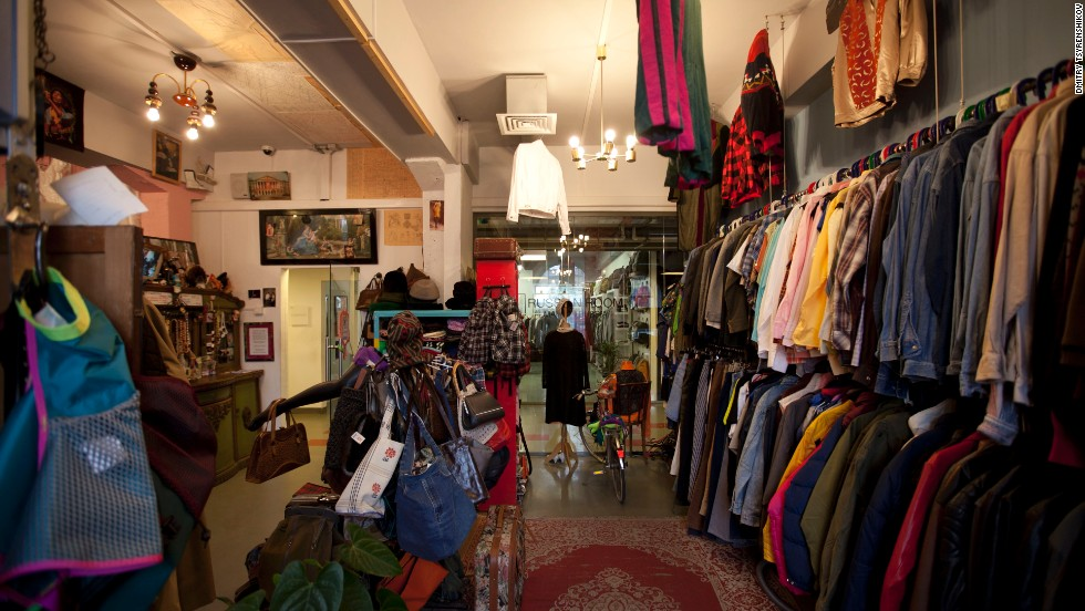 Run by a pair of extravagant shopkeepers, Off is the place to buy or hire classy vintage gear.