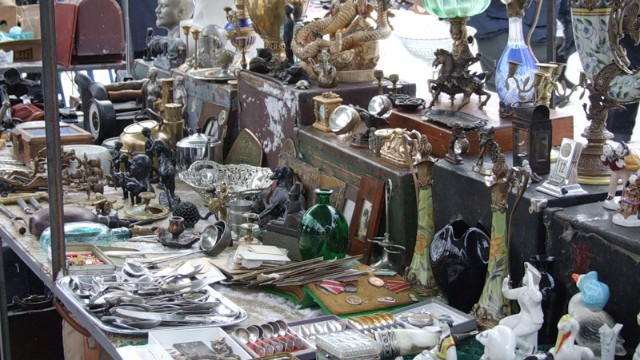 Udelka market features some of St. Petersburg's best attic plunder.