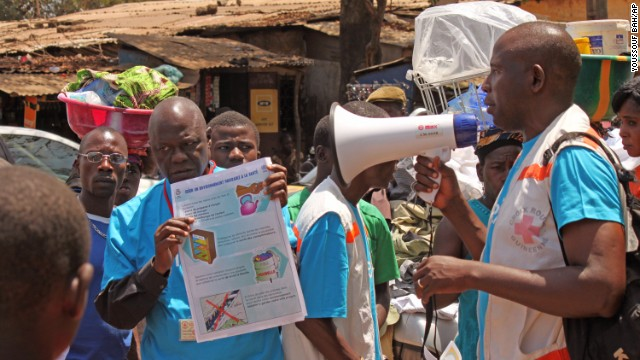 Dozens killed by ebola outbreak