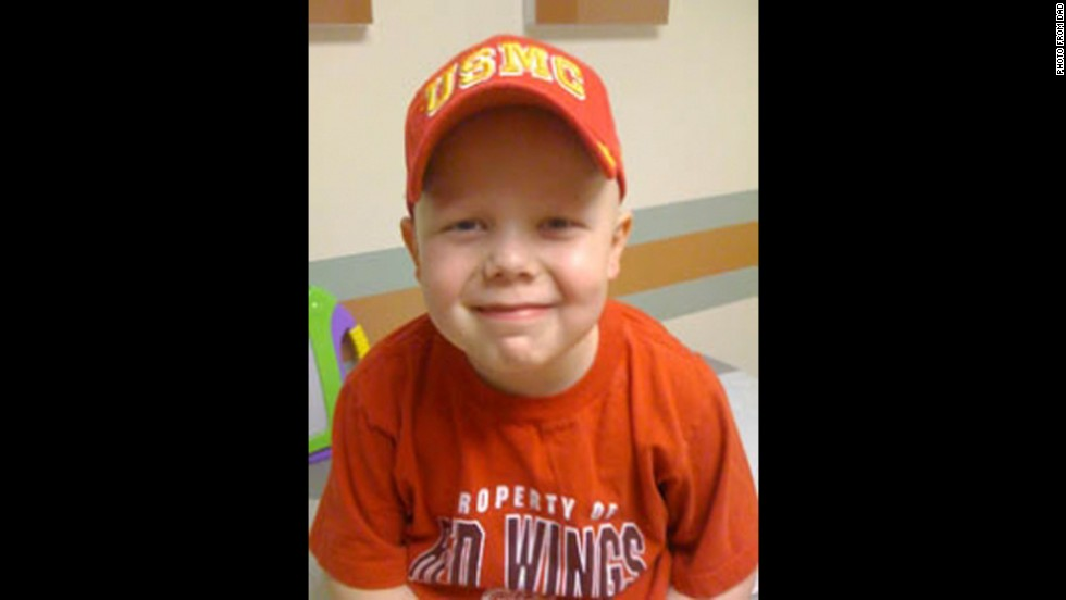 "Max Nunn was diagnosed with medulloblastoma, an aggressive brain tumor. He received compassionate use a month before passing away at age 7. ""I could tell it wasn't helping,"" says Max's dad, Thomas Nunn. ""It was just making him miserable, so the last week he became so sick from taking it I decided to quit giving it to him."""