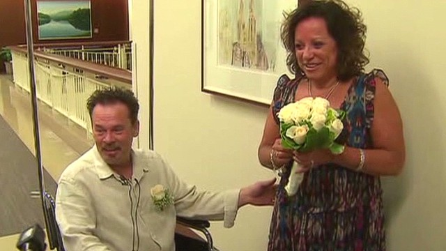 Couple says 'I do' before 7-hour surgery