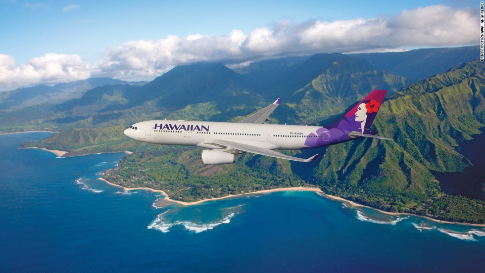 Hawaiian Airlines is third for airline quality, according to the study.