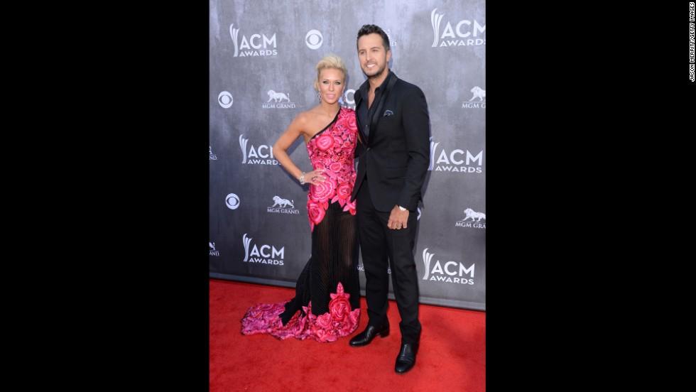 Caroline Bryan and Luke Bryan
