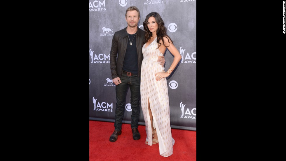 Dierks Bentley and wife, Cassidy Black