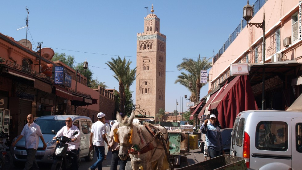 Marrakech is the sixth-ranked destination for 2014, jumping 13 spots from last year.