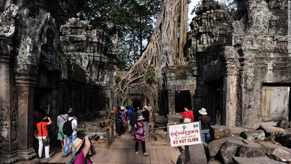 Siem Reap, Cambodia, jumped 14 spots to No. 9.