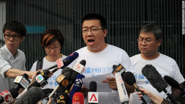 Many Chinese relatives of passengers who traveled on MH370 have been unhappy with the Malaysian government.
