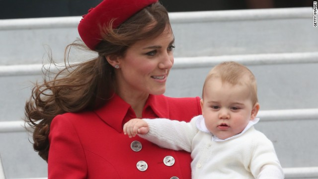 Prince George's royal duties have begun