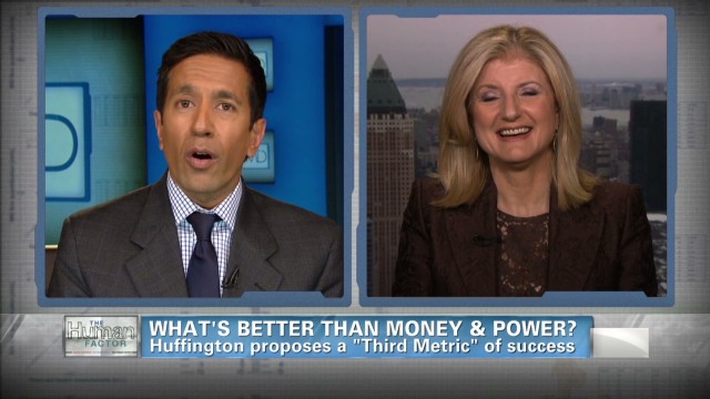 Arianna Huffington's secret to success